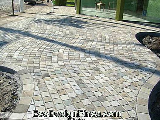 basalt stone decorated sidewalk tip