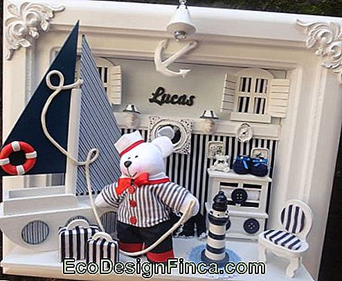 niche til baby room sailor