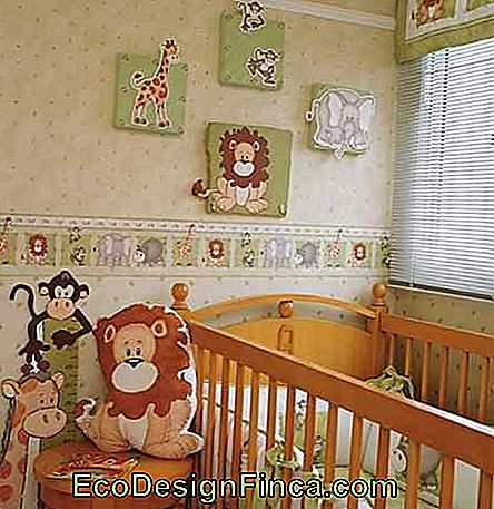 Animal Theme Baby Room Banner