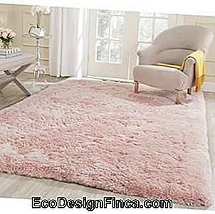 light pink carp fleece in living room