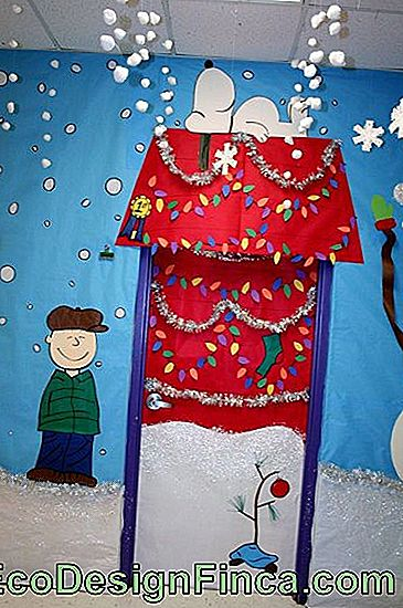 Ornements de porte de Noël Education des enfants