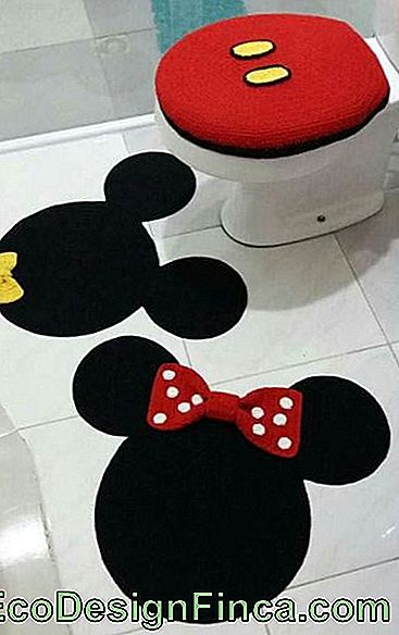 Photo de la salle de bain de Mickey et Minnie.