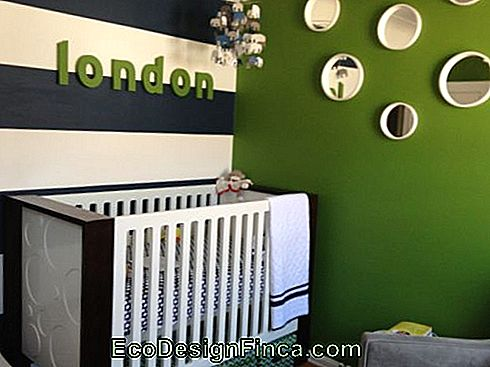 6 Green Baby Room Decor Idéer til inspiration!: baby