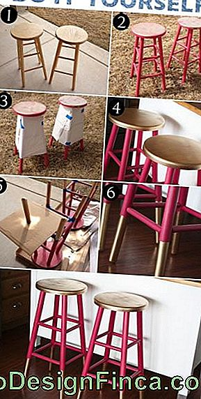 DIY Hocker