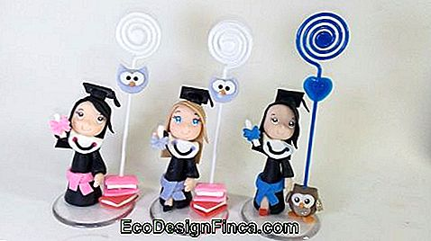 Biscuit dolls for graduation.