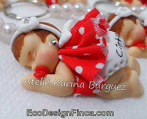 Baby biscuit for girl with red dress