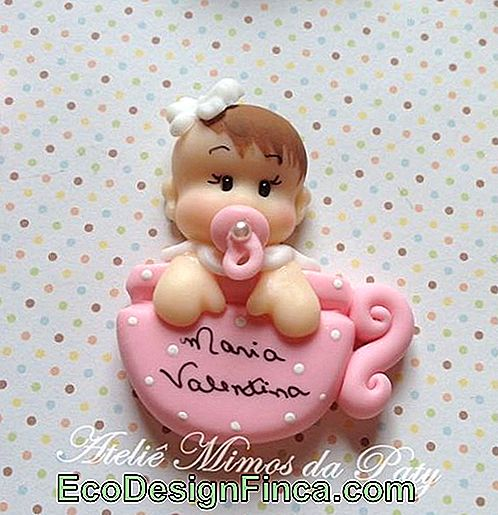 Baby biscuit for girl in cup