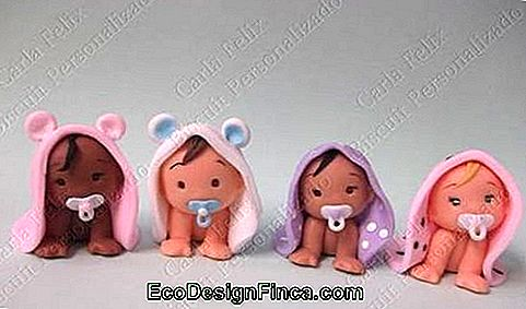 Baby biscuit for girl with towel and pacifier