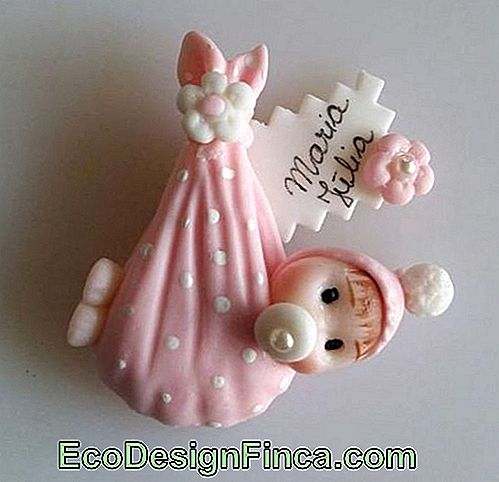 Baby biscuit for girl with magnet for refrigerator
