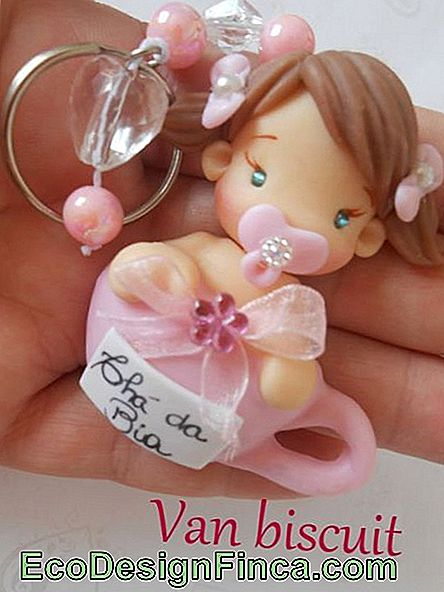 Biscuit Baby for Girl Key Chain