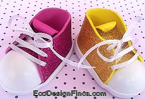Chaussure style EVA all star glitter