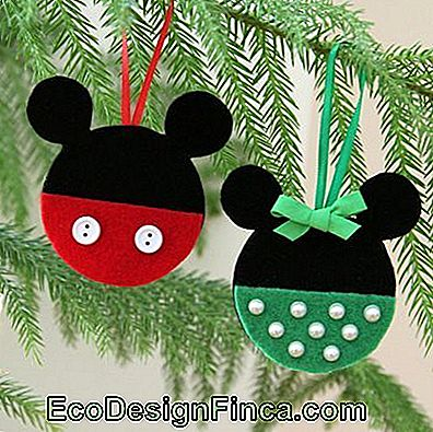 mickey ir minnie ornamentas