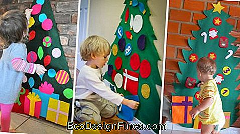 Christmas Tree on the Wall - 50 Awesome Ideas & DIY Tutorial Easy!: awesome