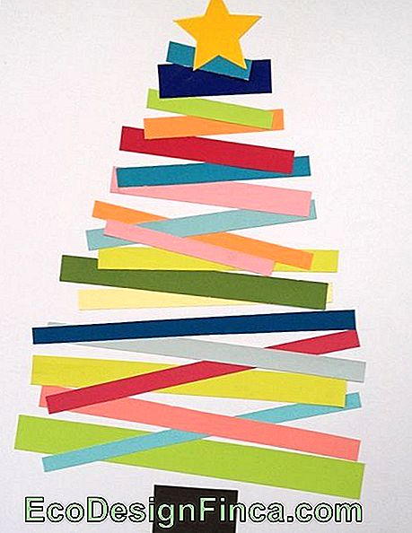 Christmas Tree on the Wall - 50 Awesome Ideas & DIY Tutorial Easy!: ideas