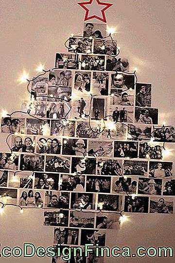 Christmas Tree on the Wall - 50 Awesome Ideas & DIY Tutorial Easy!: Tree