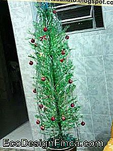 Pet Bottle Christmas Tree