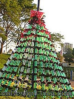 Didelė Pet Bottle Christmas Tree