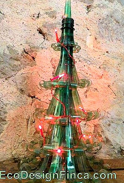 Mažas Pet Bottle Christmas Tree