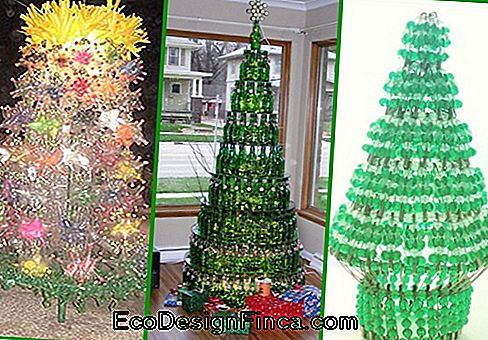 Kerstboom Pet Bottle inspiraties