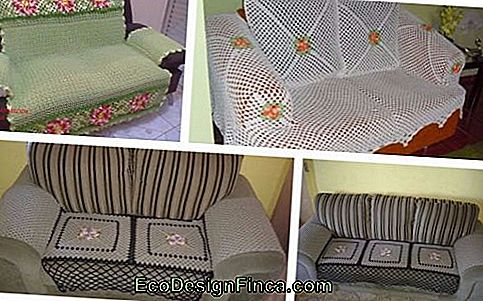 Haak Sofa Cover: 39 Awesome Templates & Simple Recept Chart te maken!: cover