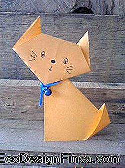 Animal Folding: Orange Cat