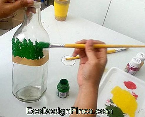 Glass Brush Handicraft