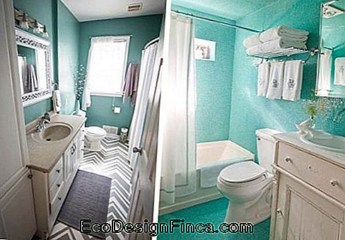 Turquoise-blauw-decoration-in-badkamer