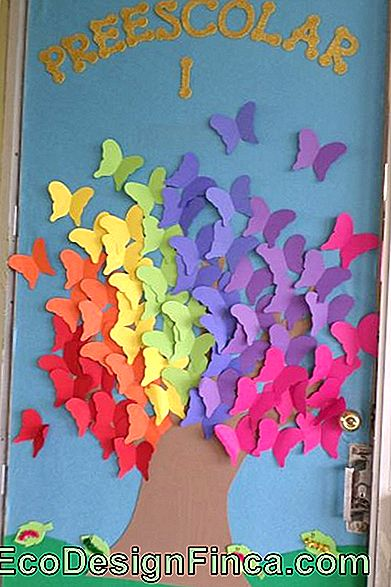 porte-decorate-spring-farfalle