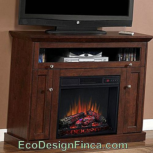 Electric Fireplace - What It Is, Top Advantages & 50 Beautiful Models!: fireplace