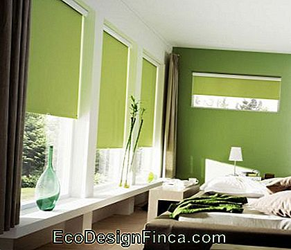 chambre-verte-marron-couple