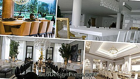 luxury dining room decorations
