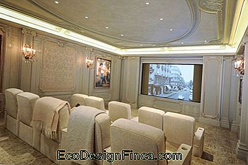 home theater room decoration