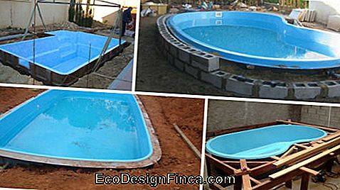 fiber pool installation