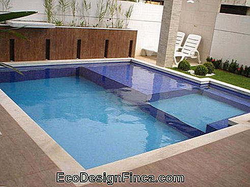 square masonry pool