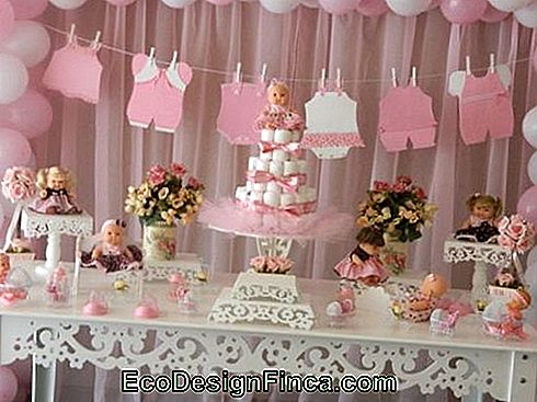 baby shower decoratie
