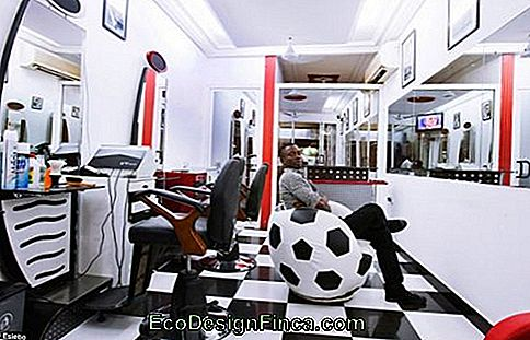 salon de coiffure moderne et simple