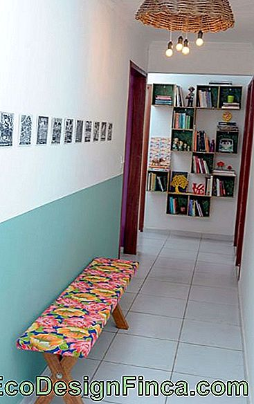 decorated corridor