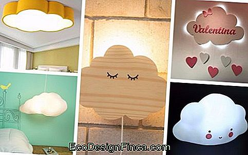 Cloud Lamp - 65 Fantasiosi Modelli Per Decorare La Stanza!