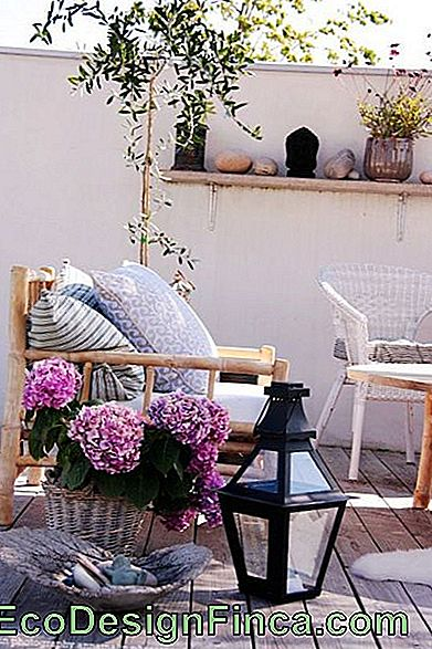 balcone decorato