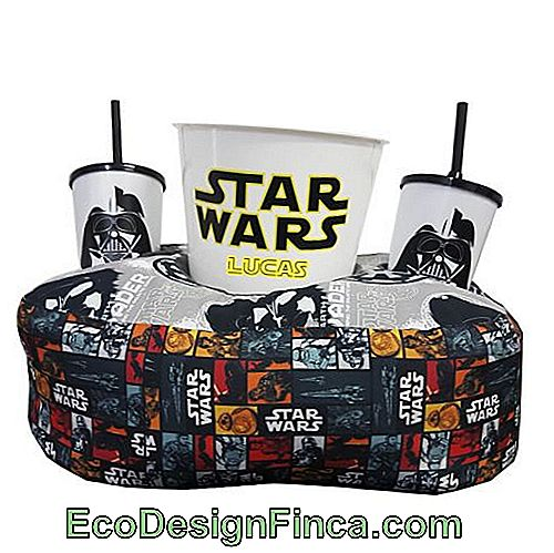 While some people like cuddly models, many prefer geek-patterned cushions - like that of Star Wars