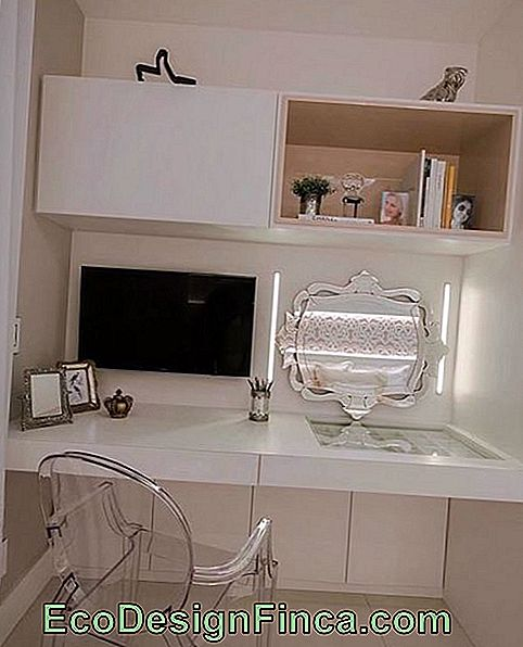 commode moderne blanche
