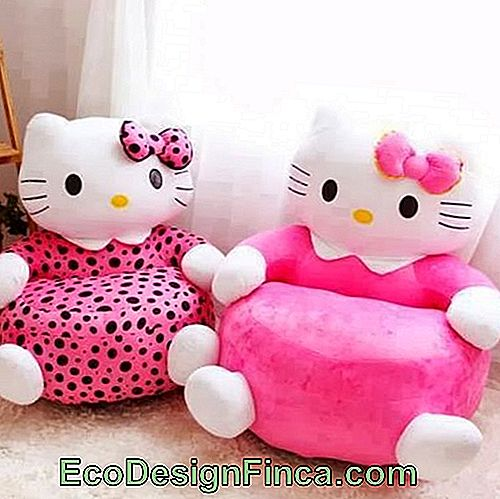 Hello Kitty Big Puff Fauteuil