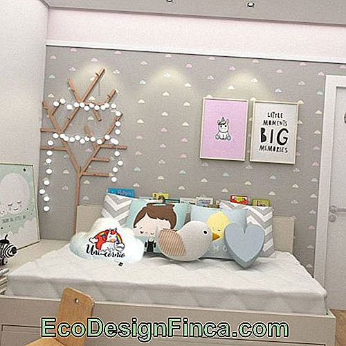 Cute decoration idea for young people's room