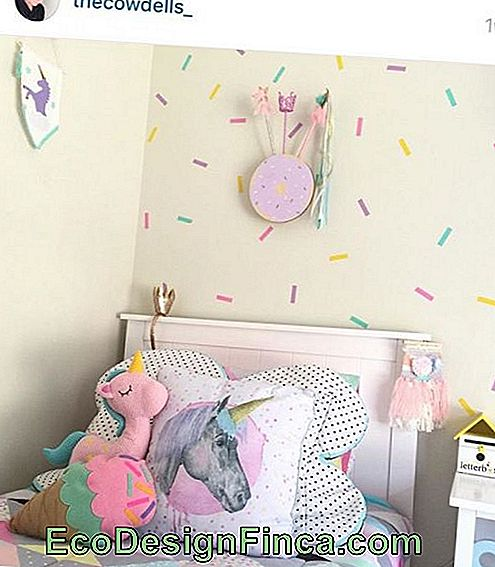 Decor inspired by unicorns