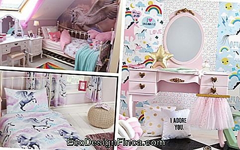 Suggestions for you to compose a juvenile room with the unicorn theme