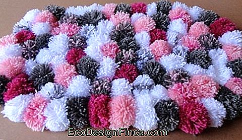 Pompom Rug - 50 modele Fancy & Step by Step DIY!: pompom