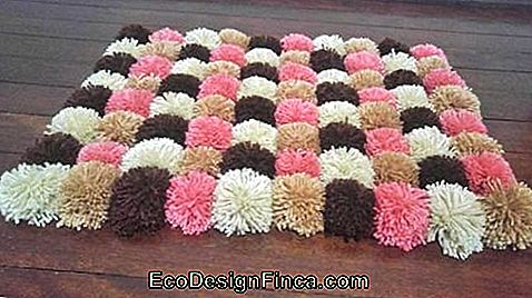 Pompom Rug - 50 modele Fancy & Step by Step DIY!: modele