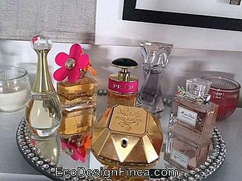 parfums in decoratie