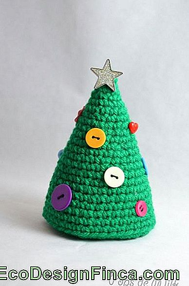 amigurumi arbre simple