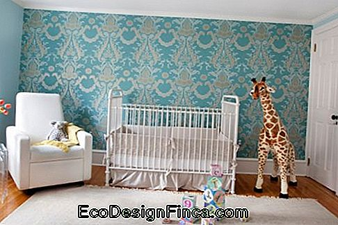 Wallpaper voor Ethnic Baby Room